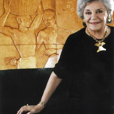 Baroness Philippine de Rothschild