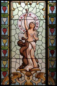 女酒神的形象圖。