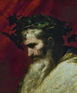 酒神戴歐尼修斯(Dionysus)。