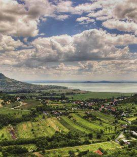 景色秀麗的Balaton湖。