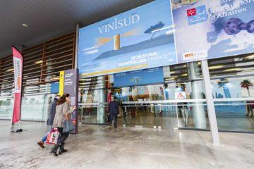Vinisud的入口,早上頗為繁忙。