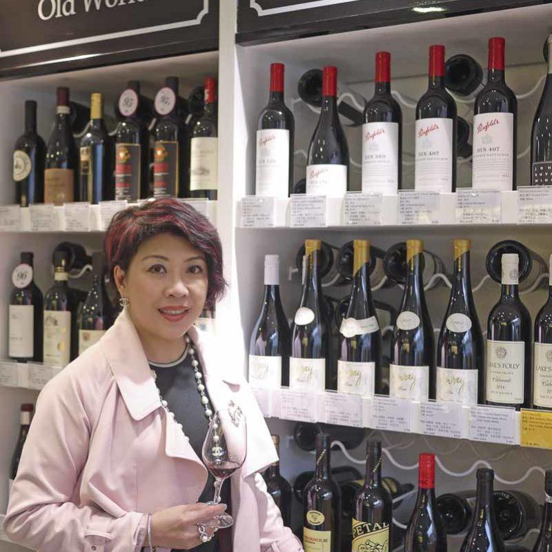 W Cellar的負責人Pam。