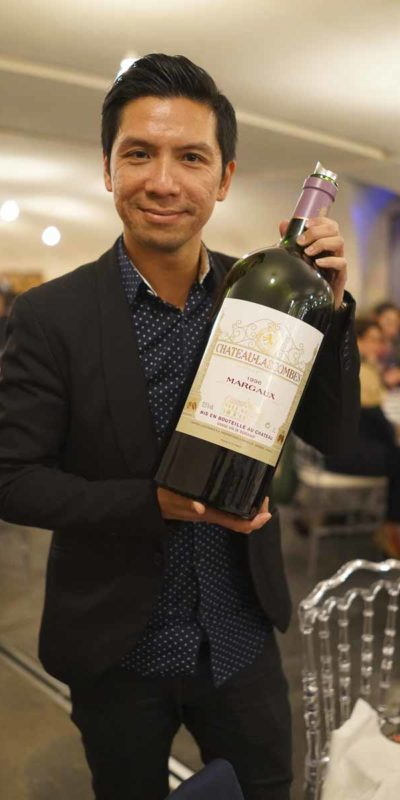 筆者出席Chateau Lascombes Wine Dinner。