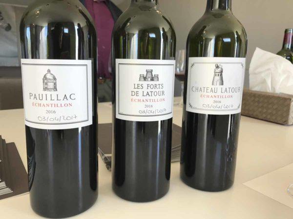 Château Latour期酒品鍳樣品