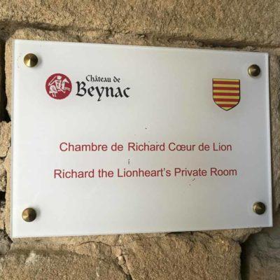 著名古堡Château de Beynac。