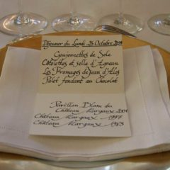 有幸一試 Château Margaux 1983