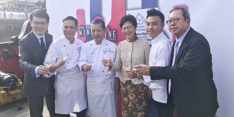 香港的星級廚師也專程來波爾多負責烹調。
