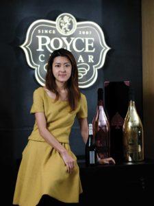 威揚酒業控股創辦人及行政總裁王姿潞女士(Shirley Wong