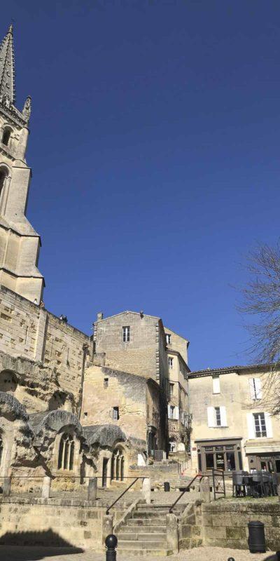 Saint-Émilion 著名的圯下教堂