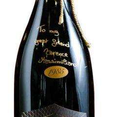 一支極珍貴的100% Pinot Noir 香檳制汽酒(360個月與酒渣陳釀)