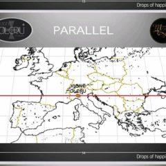 衛星技術葡萄園地圖。監測不同嘅過程,包括:施肥計劃等等⋯