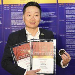 Russetra caviar 在一帶一路國際食品展拿了「金獎」和包装設計「銀獎」
