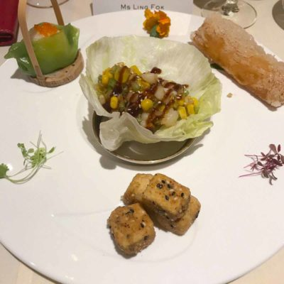 澳洲中菜,有很多越南菜,例如米紙卷