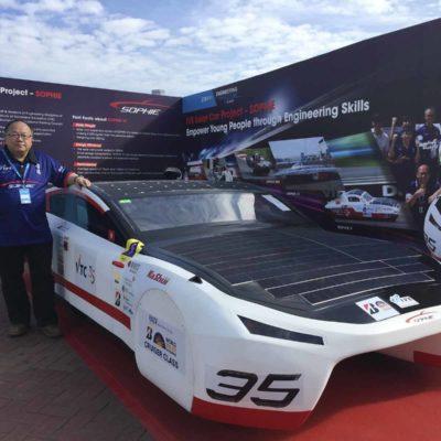 SOPHIE 太陽能車