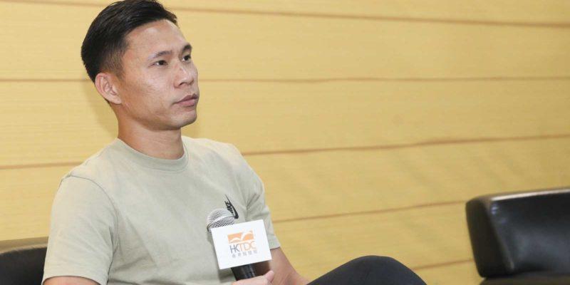 香港足球代表隊門將葉鴻輝