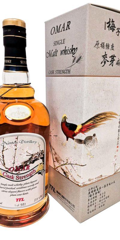OMAR原桶麥芽威士忌(梅子酒桶)