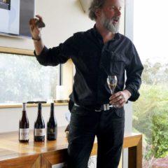 Josef Chromy的資深釀酒師Jeremy Dineen悉心介紹塔省風土。