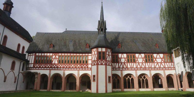 Eberbach修道院寺院。
