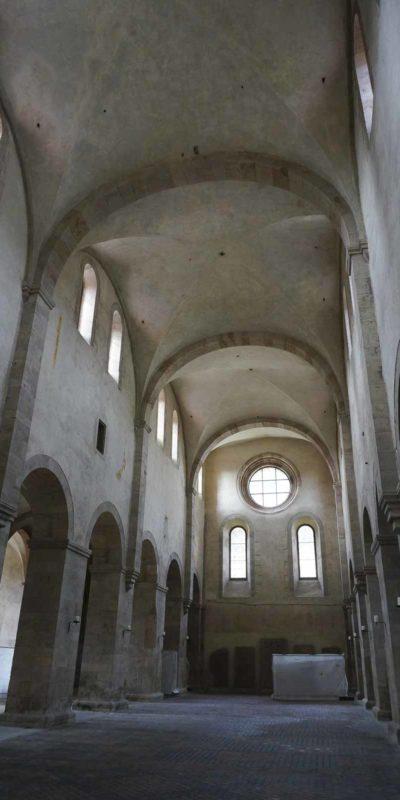 Eberbach修道院教堂。