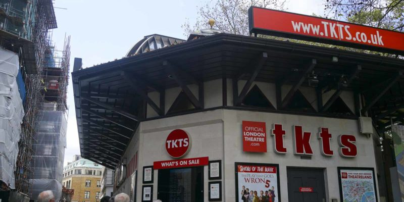 TKTS提供舞台/音樂劇即入門券,最適合自由時間的遊客,隨時遇上驚喜大優惠。