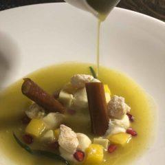 在Mere法式餐廳品嚐了他們著名的Tasting Menu,果然精彩細緻,服務水準高,是燭光晚餐的好去處。