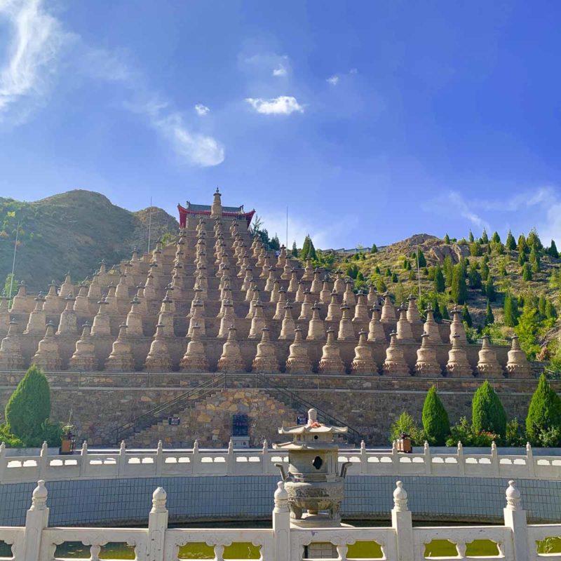 黃河青銅峽108喇嘛塔