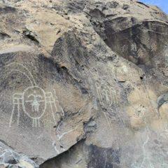 賀蘭山的岩畫充滿神秘色彩