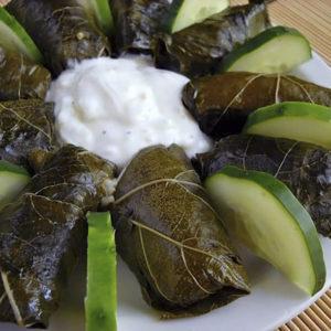 中東葡萄葉包飯的Dolma