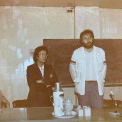 在北京技術座談會當德國專家的翻譯(1982 )