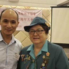 香港女童軍總監頒贈金獎章予李豐年