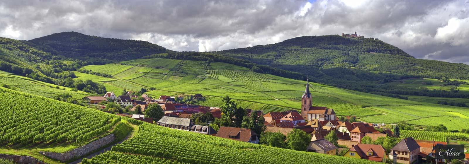 阿爾薩斯的 Rodern 村(©Vin d'Alsace)